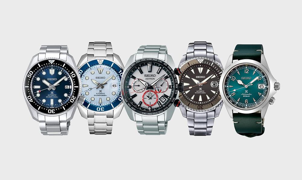 Novedades relojes Seiko octubre - noviembre 2020