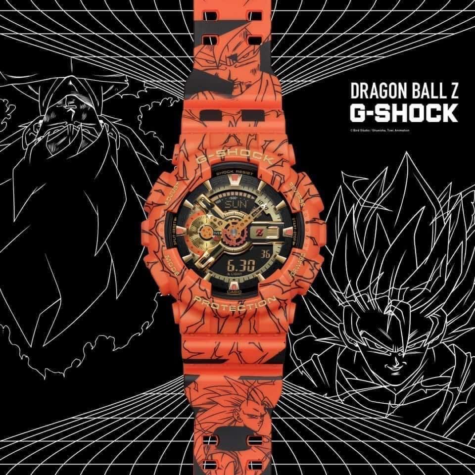 GA-110JDB-1A4 reloj dragon ball z edicion limitada casio 2020 novedad