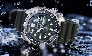 novedad reloj seiko prospex SRPE05K1 king turtle cristal zafiro