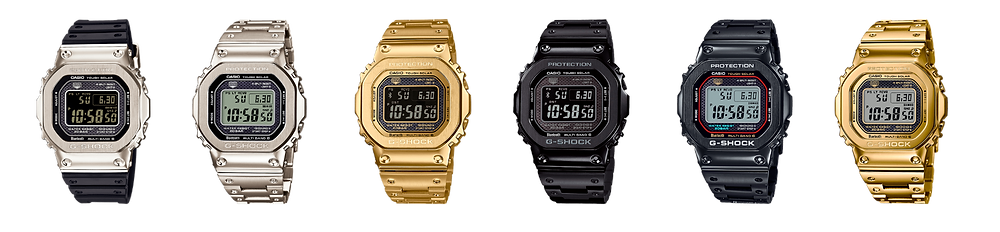 Diseño icónico GMW-B5000 Kikuo Ibe x G-Shock