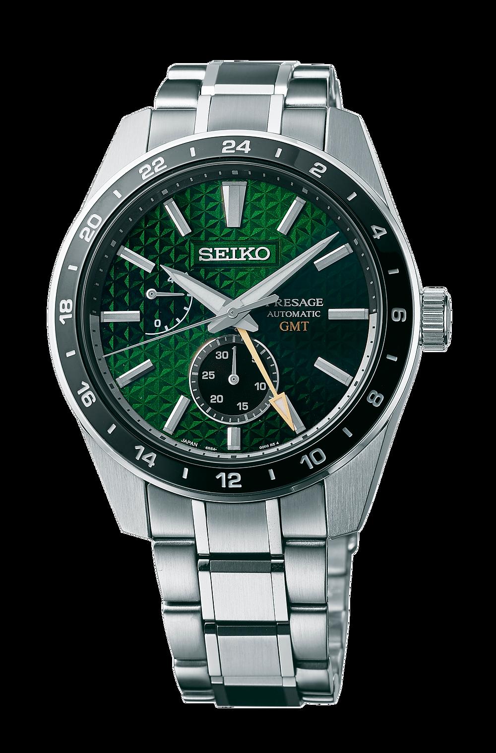 Seiko Presage GMT-2021 referencia SPB219J1