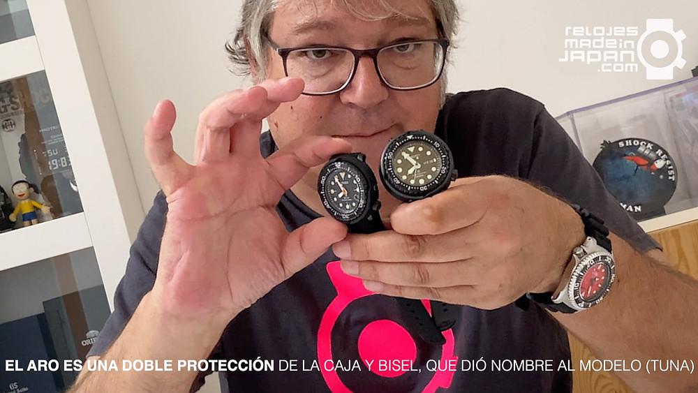 video review Seiko Prospex tuna 2021 200m solar versus tuna 1000m calibre 7c46