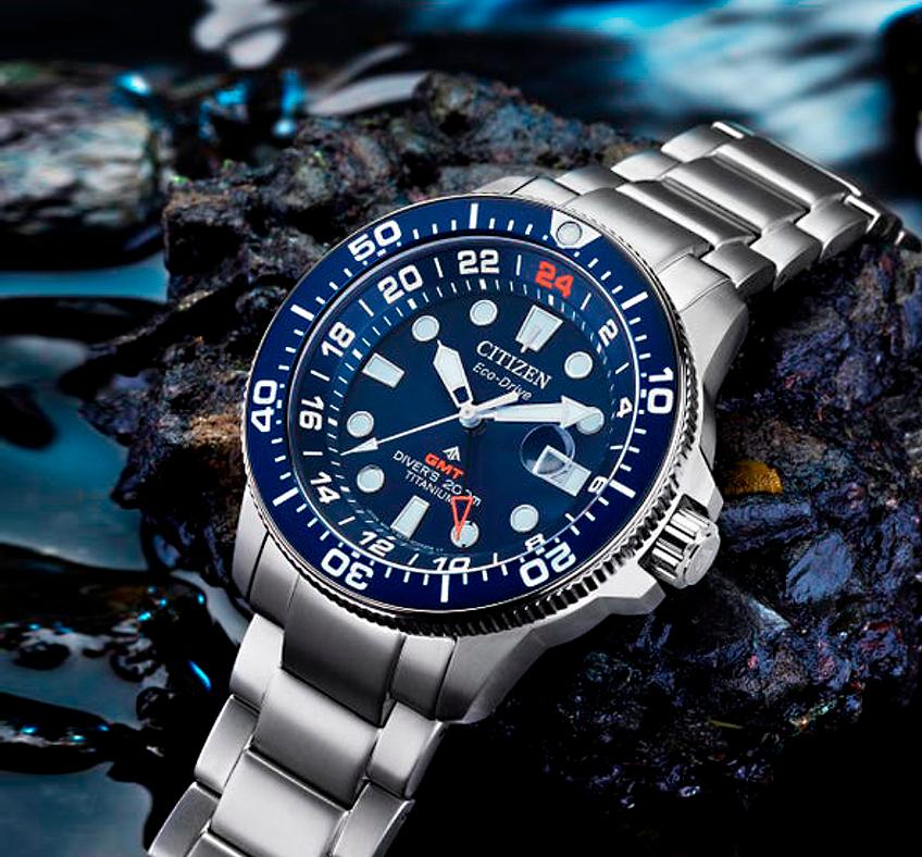 reloj diver's Citizen promaster GMT nuevo modelo BJ7111-51M