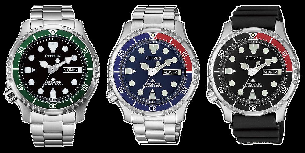 relojes divers promaster citizen automaticos acero 42mm 2021 NY0084 NY0085 NY0086