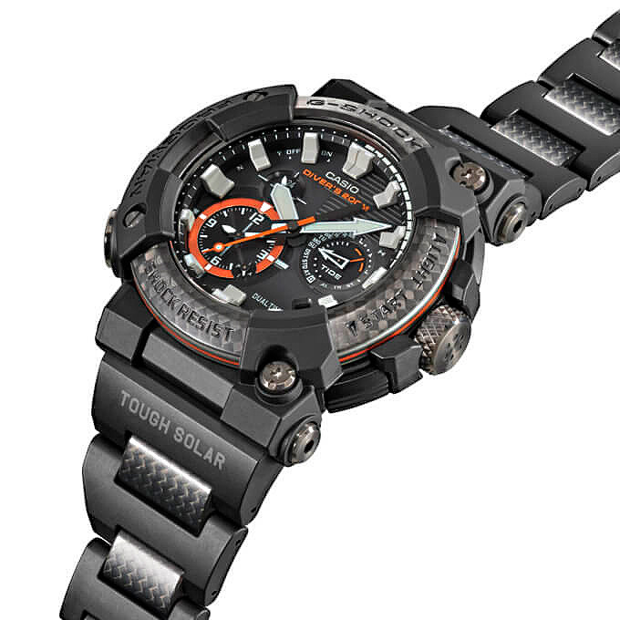 nuevo reloj diver G-Shock frogman GWF-A1000C-1A con armis composite