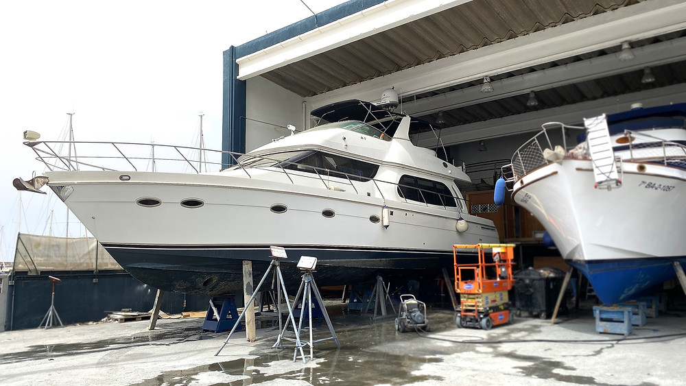 servivio mantenimiento barcos nautica sentyacht port esportiu masnou