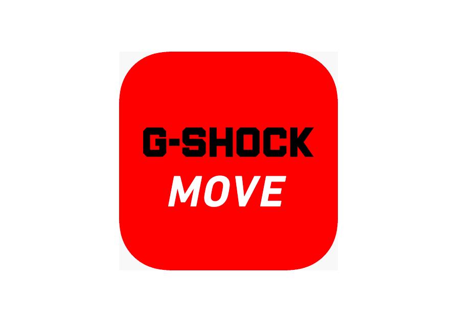 logo g-shock move app deportes casio g-shock