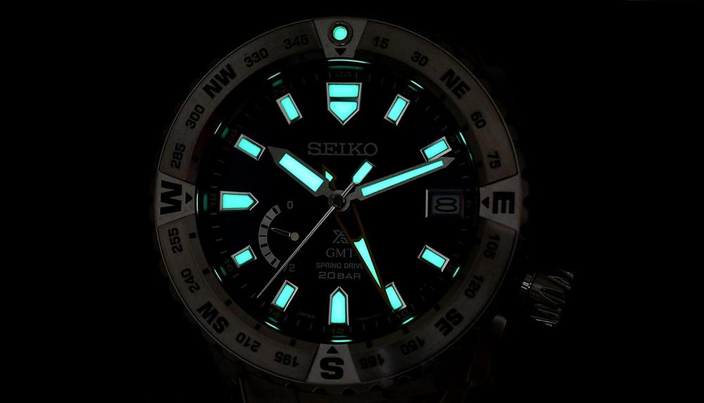 Iluminacion Lumibrite especial de Seiko Prospex