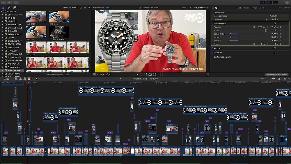 Nuevo video analisis reloj ciitizen promaster nb6004-83e