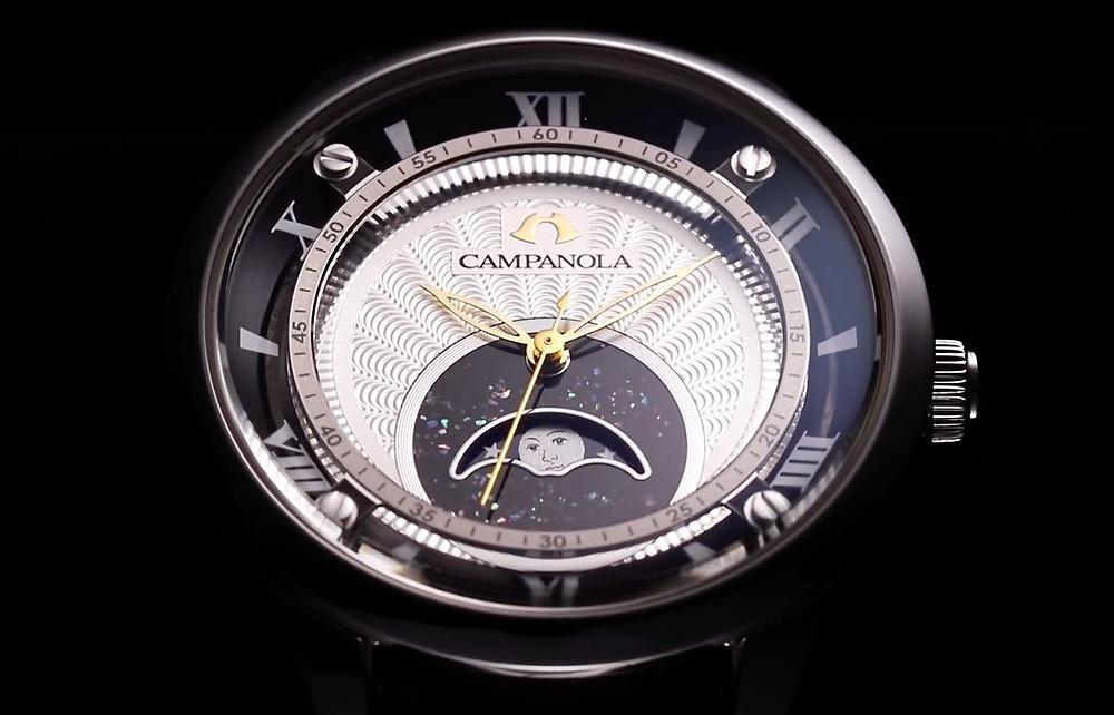 coleccion relojes Campanola fase lunar complicacion cuarzo relojes de lujo japoneses