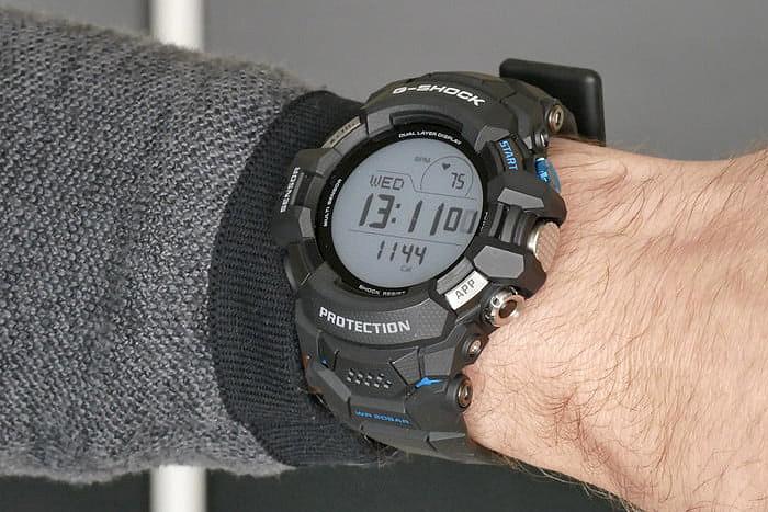 presentacion en vivo reloj smartwatch de g-shock g-squad-pro gsw-h1000 novedad