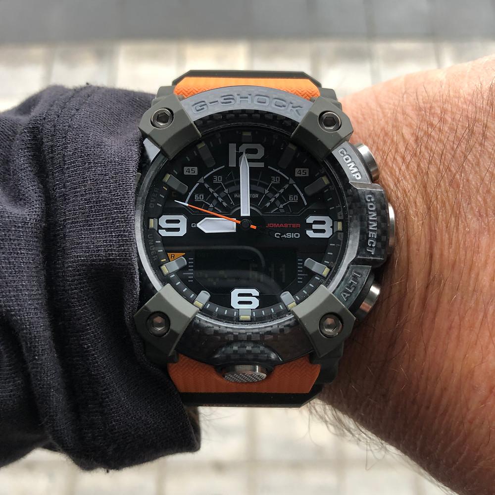 Nuevo reloj Casio G-Shock Mudmaster GG-B100 Carbon Core Guard