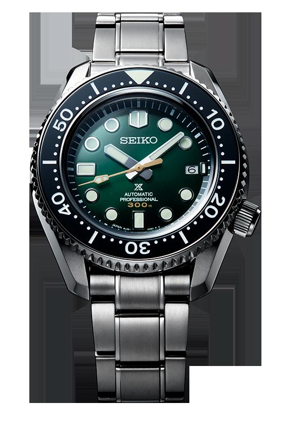 Reloj seiko prospex marinemaster 300 metros edicion limitada 140 aniversario modelo SLA047J1 esfera verde