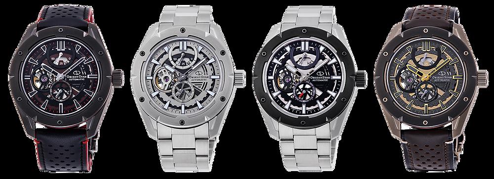 4 relojes deportivos mecánicos orient Star novedad 2020-2021