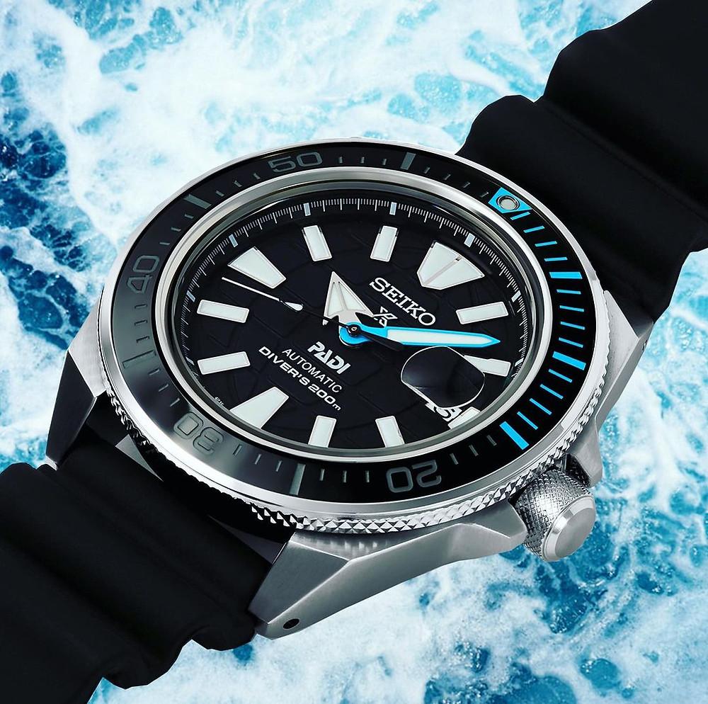 reloj seiko prospex 2021 edicion especial padi SRPG21K1