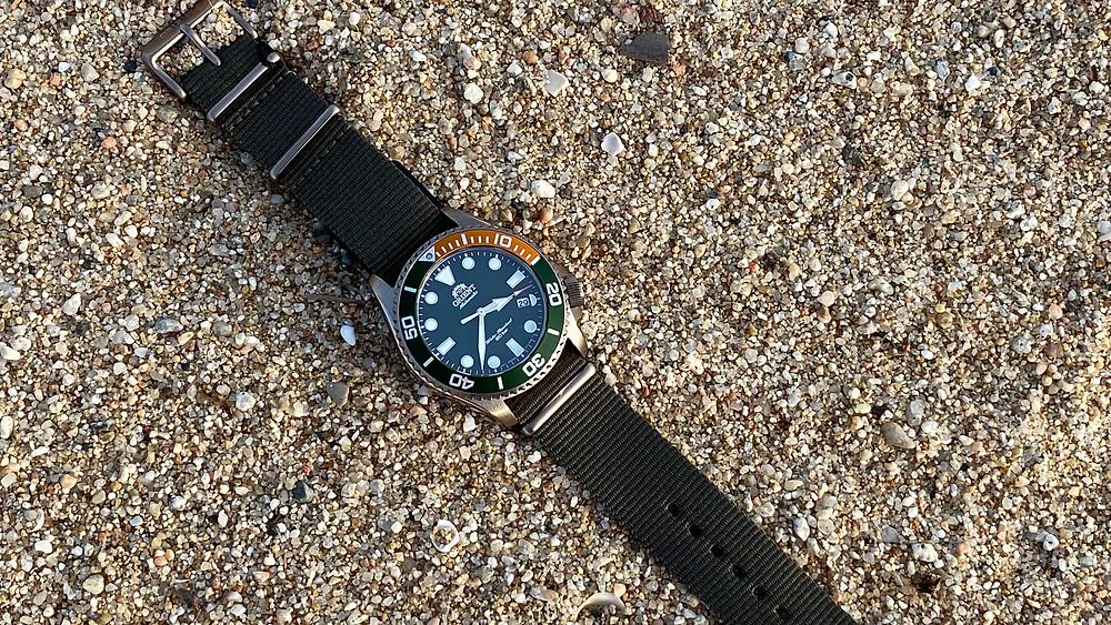 Reloj orient para buzos automatico ra-ac0k04e