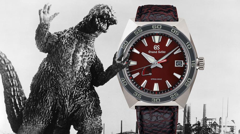 Reloj edicion limitada Grand Seiko Godzilla 650 unidades