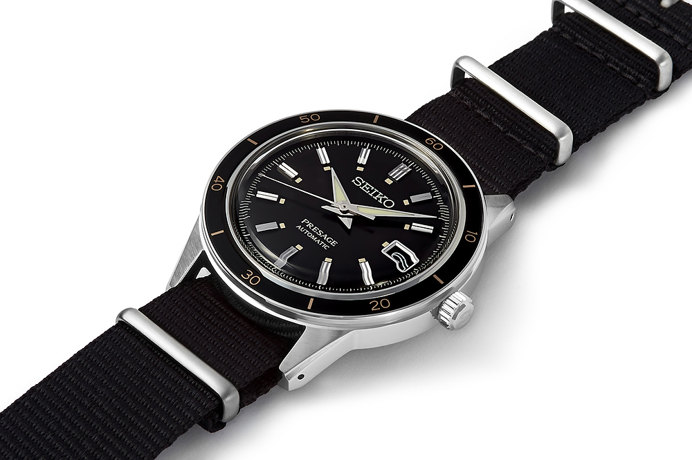 reloj seiko presage novedad vintage ref srpg09