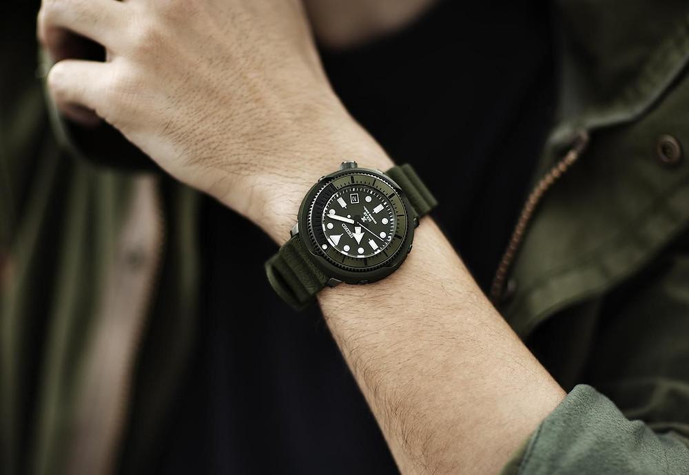Nuevos modelos de relojes colección street series de Seiko prospex SNE547P1
