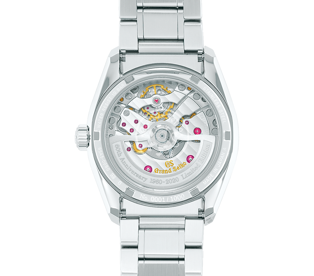Reloj numerado a 1000 piezas Grand Seiko modelo SLGH003