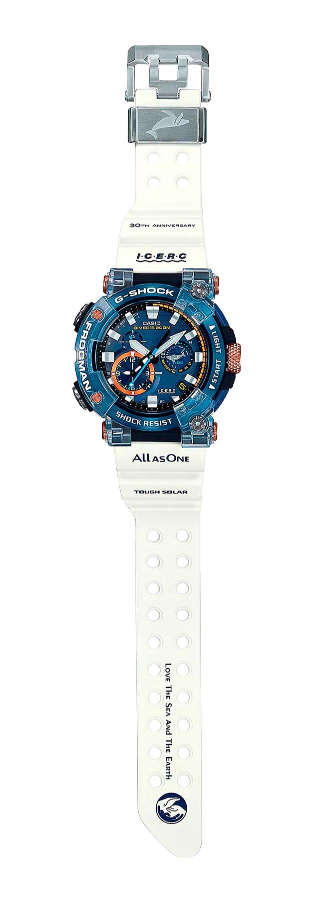 nuevo reloj divers frogman love icerc 2021 GWF-A1000K-2
