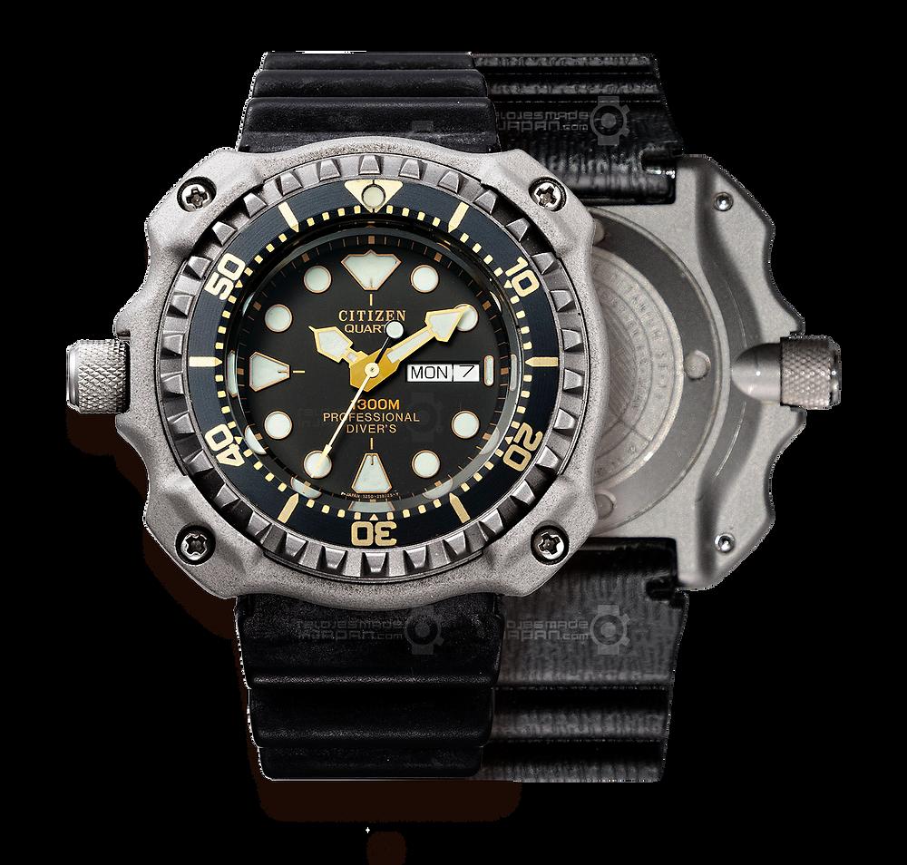reloj original de 1982 Citizen ProDiver Professional Diver 1300m