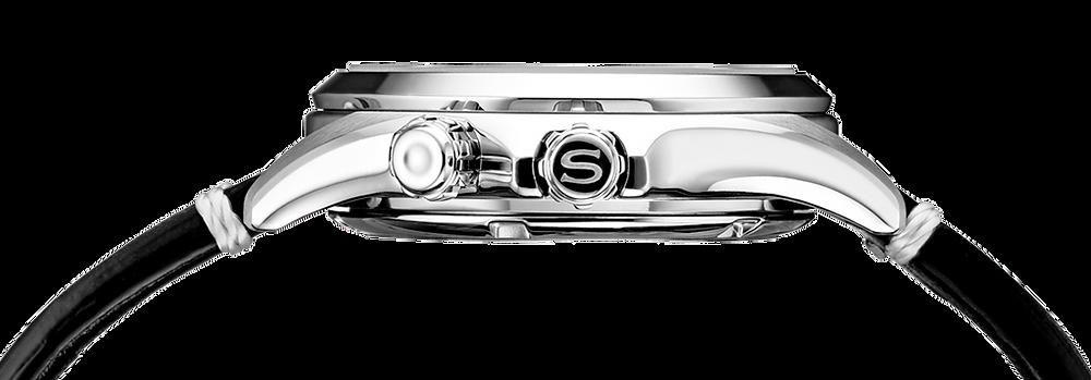 Seiko 1959 Alpinist europa edicion limitada 2021 vista corona reloj