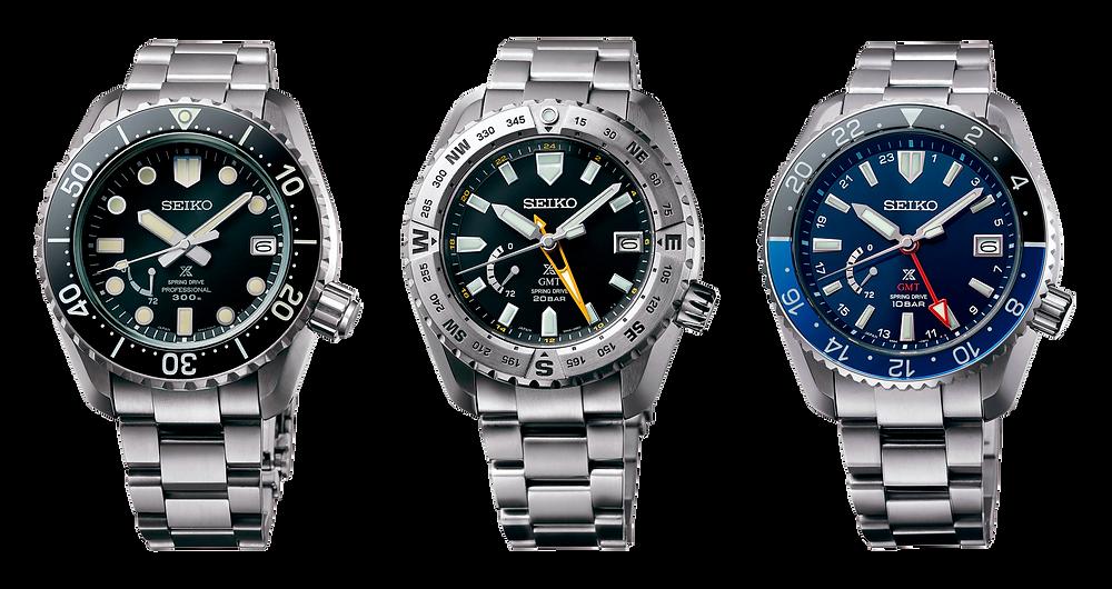 Relojes Prospex LX Tierra, Mar y Aire