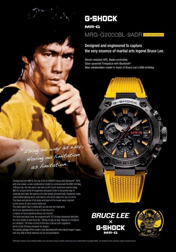 Reloj  Bruce Lee MRG-G2000BL-9ADR
