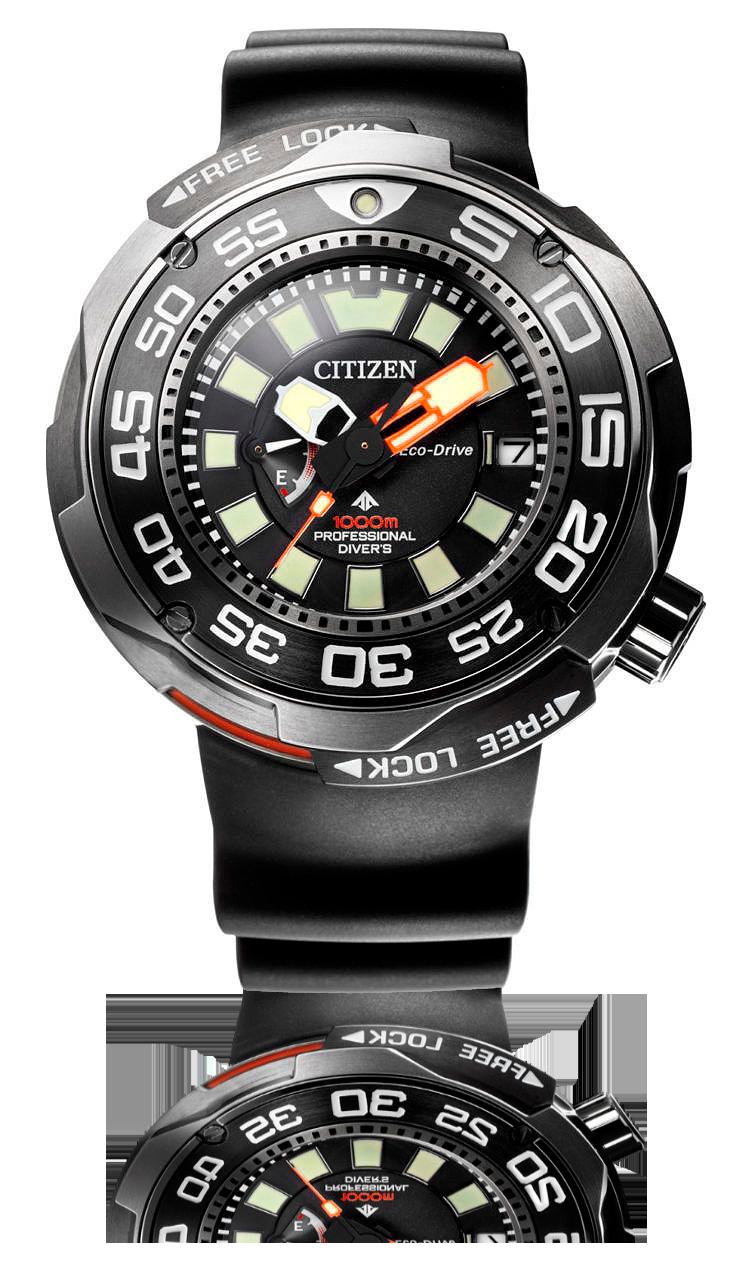 Reloj profesional Citizen Solarzilla Promaster Eco-drive  modelo BN7020-09E