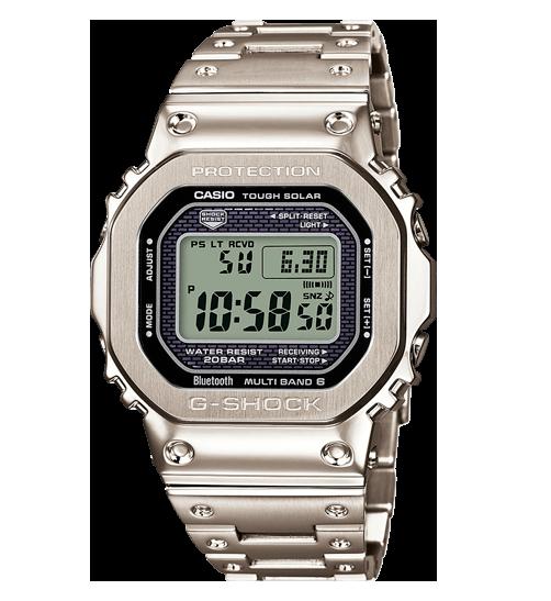 Reloj Casio G-shock de acero bluetooth solar GMW-B5000D-1ER