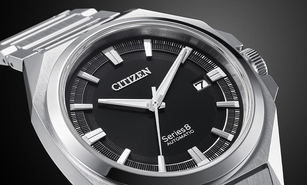 reloj citizen series 8 deportivo atemporal automatico ref NB6010-81E