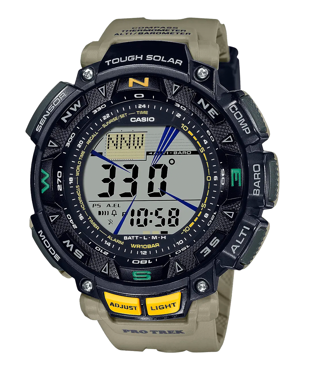 reloj novedad de Casio Pro Trek 2021 modelo PRG-240-5