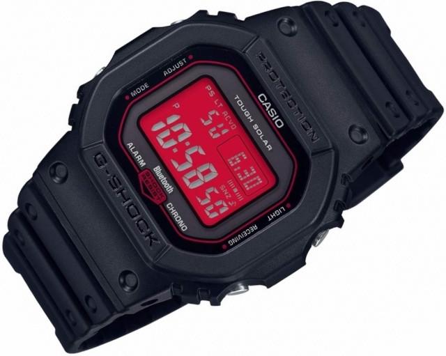 Reloj g-shock bluetooth lcd rojo GW-B5600AR-1ER
