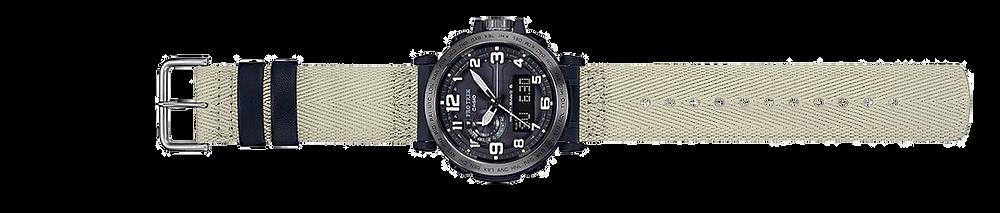 reloj casio Pro Trek modelo prw-6600ybe-5er solar, multiband6, triple sensor