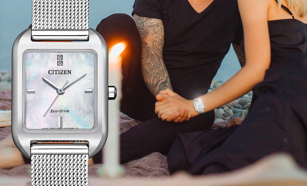 reloj citizen of collection 2021novedad para chicas em0491-81d