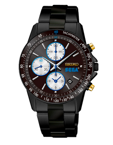 reloj edicion limitada Seiko x SEGA en plata, edicion 60 aniversario marca videojuegos