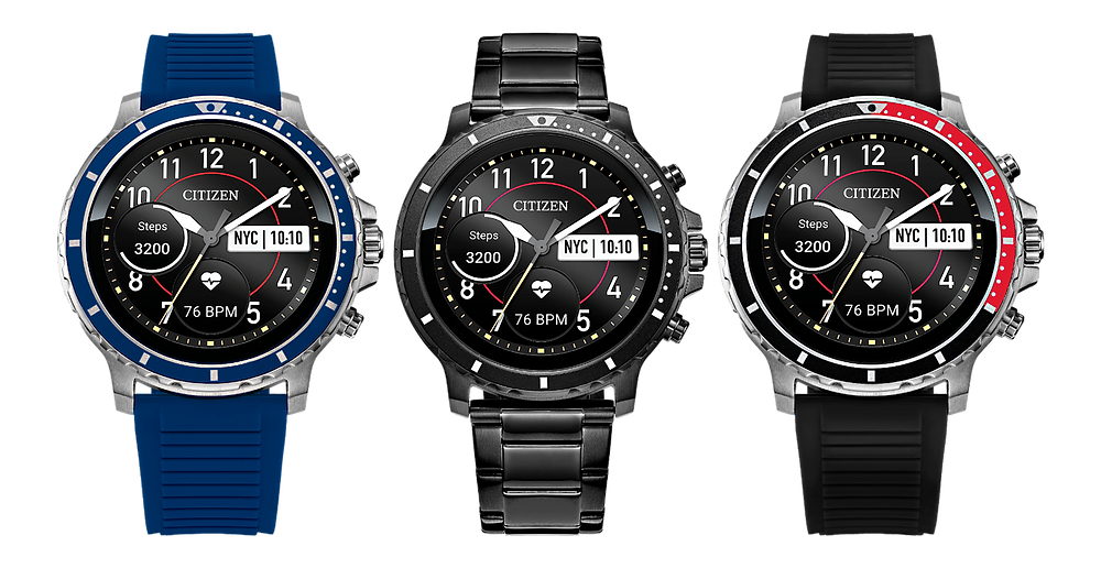CZ-Smart novedad relojes inteligentes 2020 de Citizen watch