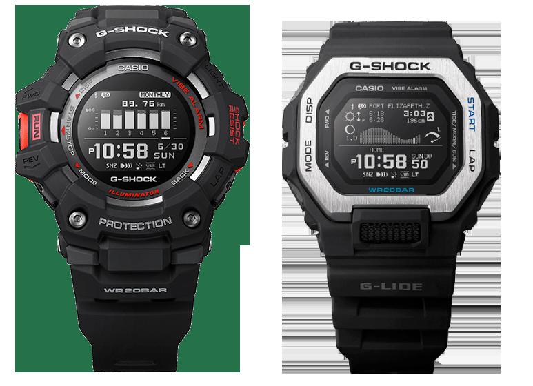 Nuevos relojes deportivos bluetooth smart Casio G-Shock gbx100 gbd100