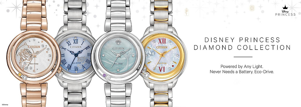 Relojes exclusivos Disney fabricados por Citizen Watch