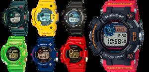 Historia relojes Casio G-Shock Frogman desde 1993 hasta 2020