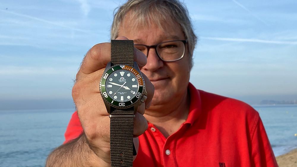 Josep Bolart editor y fundador de la web de referencia de relojes japoneses en español  relojesmadeinjapan