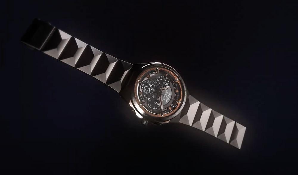 Reloj Citizen celebracion 50 años de titanio, edicion limitada 550 piezas