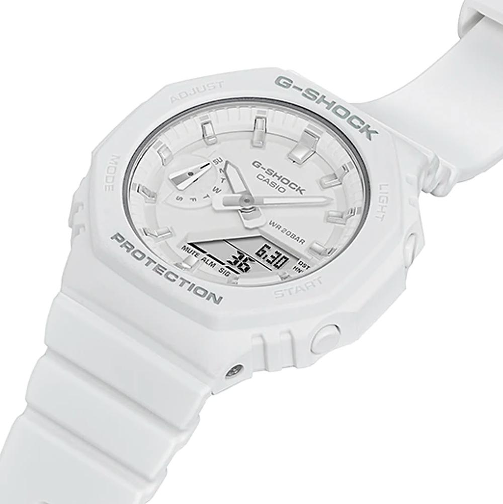 reloj para chica de moda GMA-S2100-7A color blanco y plata