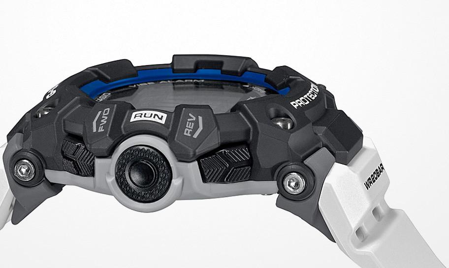 Detalle caja y correa reloj gbd-100 g-shock
