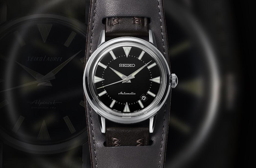 reedicion primer reloj deportivo seiko alpinist 1959 de la historia SJE085J1