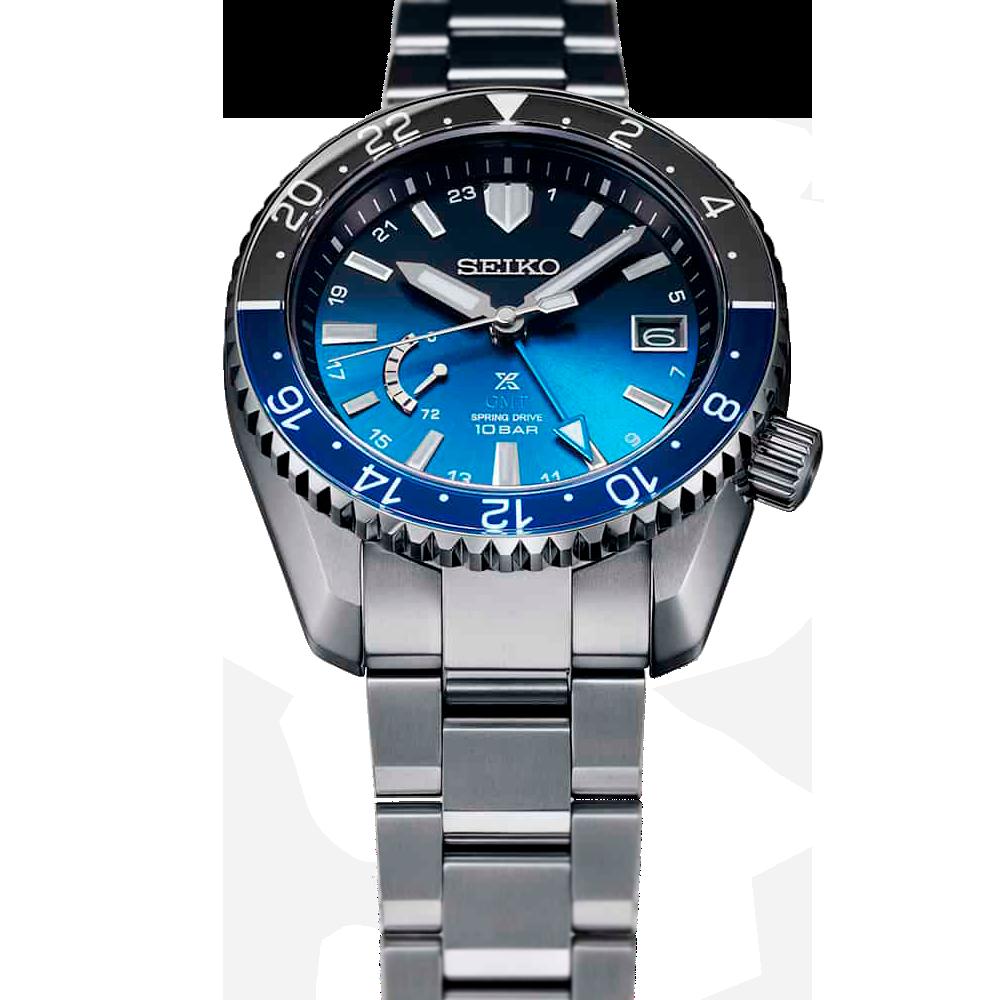 Novedad Seiko Prospex LX modelo SNR049 esfera degradado azul