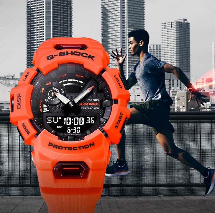 novedad reloj deportivo connected g-shock modelo gba-900-4aer