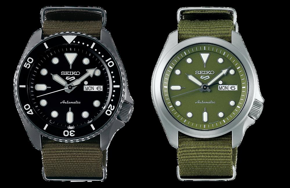 Seiko 5 Sports familia relojes automaticos 40-42 mm de caja calibre 4R36