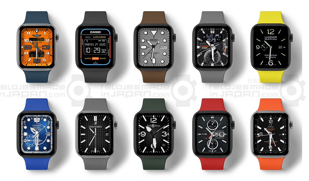 Replica reloj casio frogman GW200 en apple watch ewsfera watchface